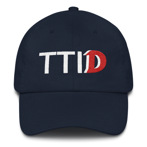 This Time It's Different Dad hat - LiVit BOLD