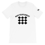 Max Your Great 2.0 Short-Sleeve Unisex T-Shirt - 2 Colors - LiVit BOLD