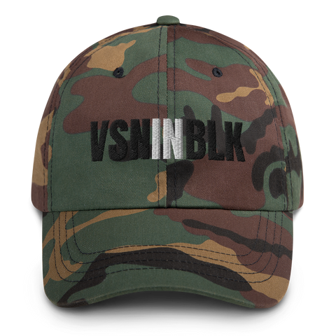 VSNINBLK Dad hat - 4 Colors - LiVit BOLD
