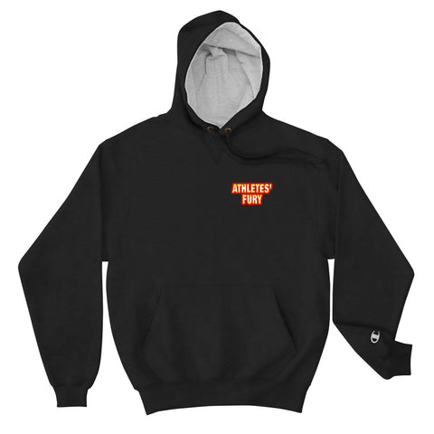 Athletes' Fury - Hold Nothing Back - Front and Back Print - Champion Hoodie - 3 Colors