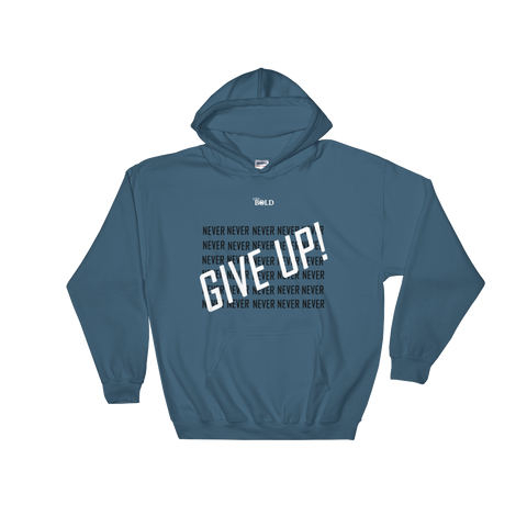 Never Give Up LiVit BOLD Unisex Hoodie - 3 Colors - LiVit BOLD