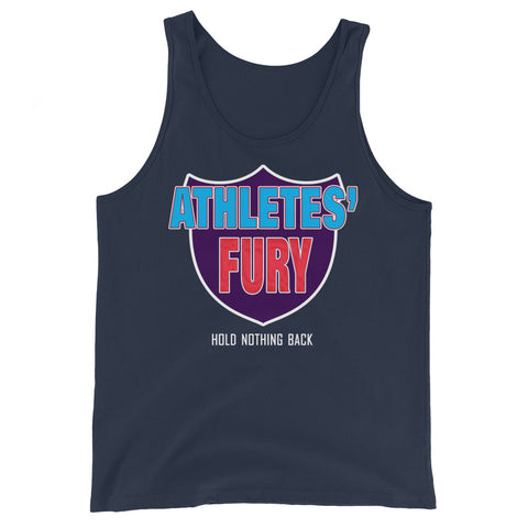 Athletes' Fury - Hold Nothing Back - Unisex Tank Top - 4 Colors - LiVit BOLD