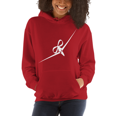 BIG DREAM GIRL - RIBBON BOW PLANE DESIGN - HOODED SWEATSHIRT - 7 COLORS - LiVit BOLD