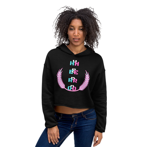 HERO Women's Fleece Crop Hoodie - 2 Colors - LiVit BOLD - LiVit BOLD