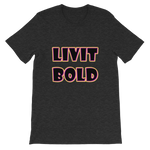 Color-Up Short-Sleeve Unisex T-Shirt - 11 Colors - LiVit BOLD