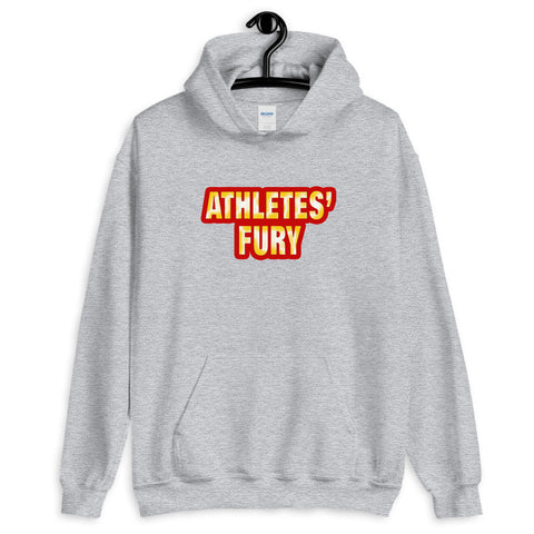 Athletes' Fury - Hold Nothing Back - Front and Back Print - Unisex Hoodie - 5 Colors