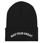 Max Your Great Cuffed Beanie - 5 Colors - LiVit BOLD