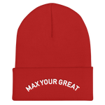 Max Your Great Cuffed Beanie - 5 Colors