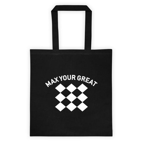 Max Your Great Tote bag - Black - LiVit BOLD