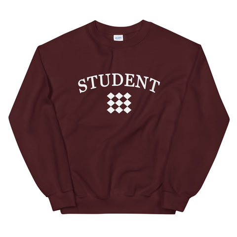 STUDENT Unisex Sweatshirt (9 Colors)