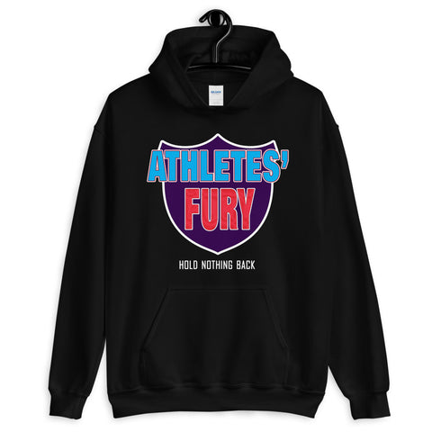 Athletes' Fury Unisex Hoodie - 4 Colors - LiVit BOLD
