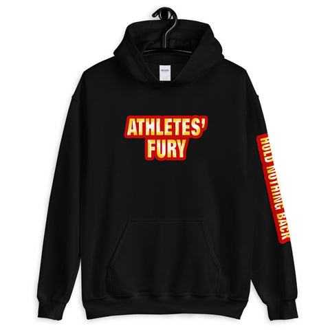 Athletes' Fury - Hold Nothing Back - Unisex Hoodie - 4 Colors - LiVit BOLD