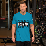 Straight From Ma Setback Short-Sleeve Unisex T-Shirt - 16 Colors - LiVit BOLD