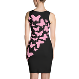 Pink Butterflies Sublimation Cut & Sew Dress - LiVit BOLD - LiVit BOLD