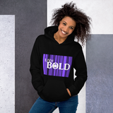 LiVit BOLD White over Purple Unisex Hoodie - 3 Colors - LiVit BOLD