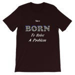 Born To Solve A Problem Short-Sleeve Unisex T-Shirt - 19 Colors - LiVit BOLD - LiVit BOLD