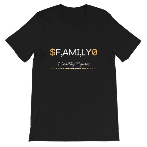 Wealthy Figures (Family) Short-Sleeve Unisex T-Shirt - 4 Colors - LiVit BOLD