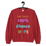 TODAY'S FORECAST UNISEX SWEATSHIRT - 7 COLORS - LiVit BOLD