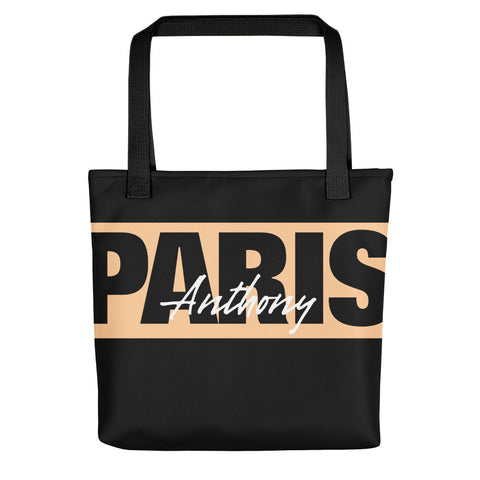 Anthony Paris - Luxury Casual Tote bag - wide logo - LiVit BOLD