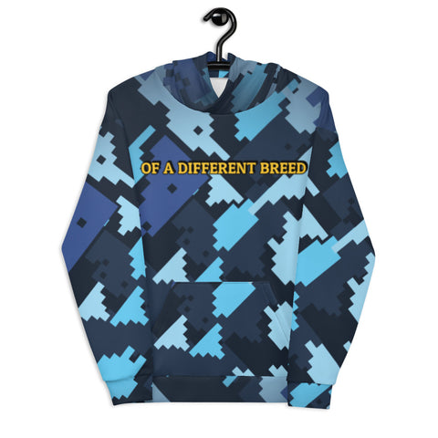 Of A Different Breed All-0ver Print Unisex Hoodie