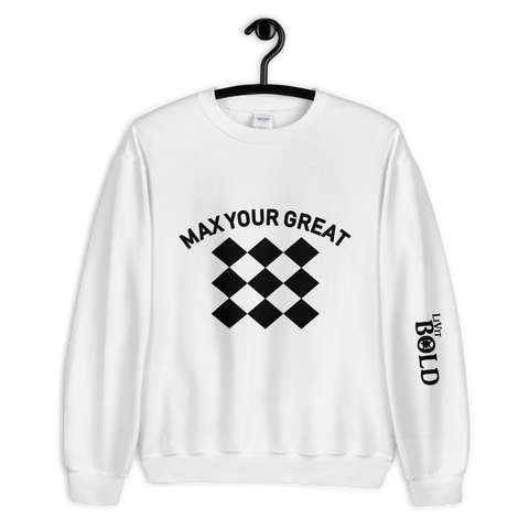 Max Your Great 2.0 Unisex Sweatshirt - 2 Colors - LiVit BOLD