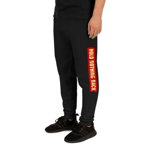 Athletes' Fury - Hold Nothing Back - Unisex Joggers 4 Colors - LiVit BOLD