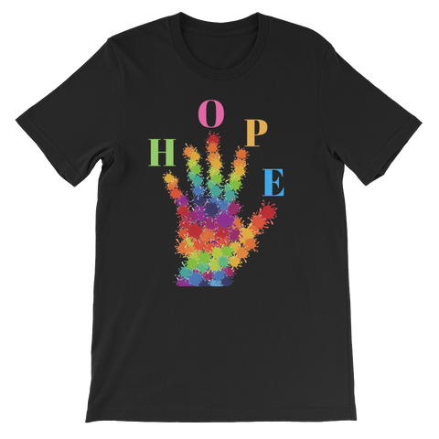 HOPE Short-Sleeve Unisex T-Shirt - 18 Colors - LiVit BOLD - LiVit BOLD