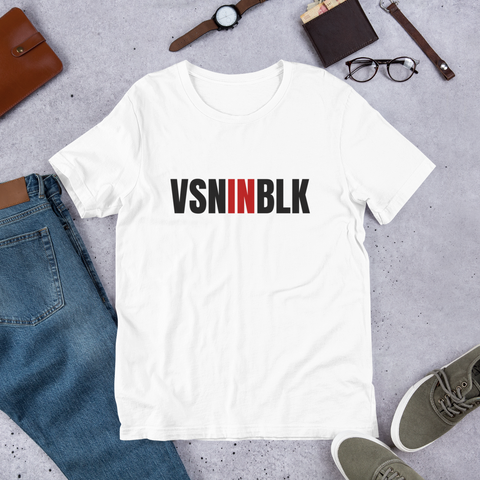 VSNINBLK Short-Sleeve Unisex T-Shirt - 2 Colors - LiVit BOLD