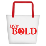 LiVit BOLD Beach Bag - Red - LiVit BOLD