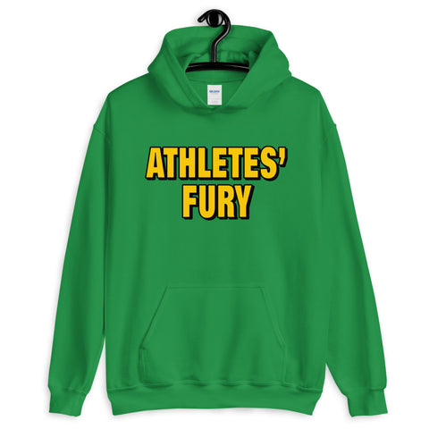 Athletes' Fury - Hold Nothing Back - Unisex Hoodie - Green - LiVit BOLD