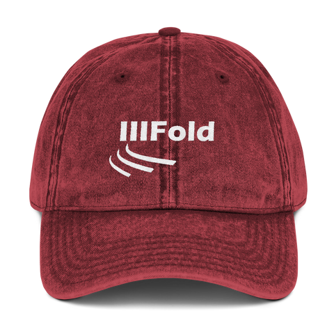 Threefold Cord Apparel Vintage Cotton Twill Cap - 3 Colors - LiVit BOLD - LiVit BOLD