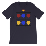 Color Dots Short-Sleeve Unisex T-Shirt - LiVit BOLD - LiVit BOLD