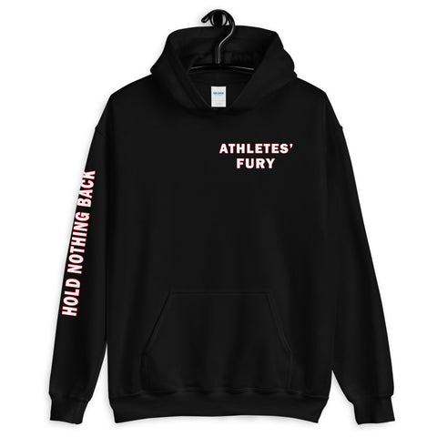 Athletes' Fury - Hold Nothing Back - Unisex Hoodie - 3 Colors - LiVit BOLD