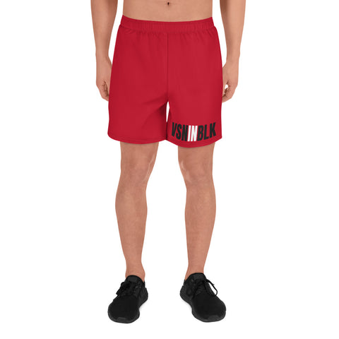 VSNINBLK Men's Athletic Long Shorts - LiVit BOLD