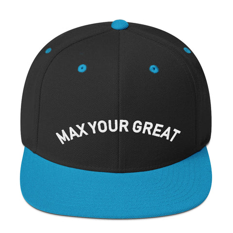 Max Your Great Snapback Hat - 7 Colors - LiVit BOLD
