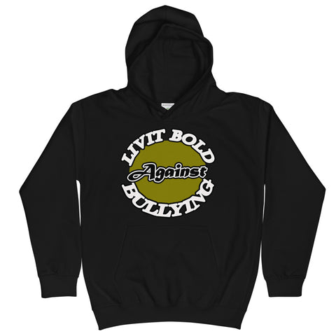 LiVit BOLD Against Bullying Kids Hoodie - 4 Colors - LiVit BOLD