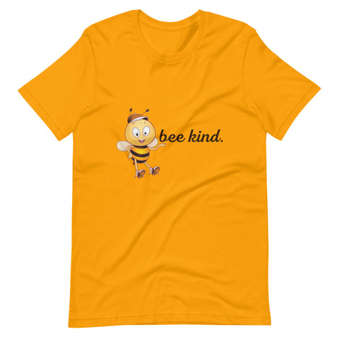 Bee Kind Short-Sleeve Unisex T-Shirt (6 Colors)