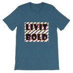 LiVit BOLD Short-Sleeve Unisex T-Shirt - 15 Colors