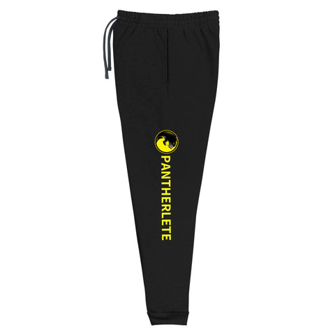 PANTHERLETE ATHLETICS UNISEX JOGGERS - PRINTED ON BOTH SIDES OF LEGS - 4 COLORS - LiVit BOLD