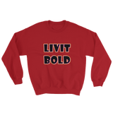 Color-Up Unisex Sweatshirt - 8 Colors - LiVit BOLD