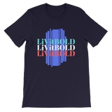 LiVit BOLD In Three Colors Short-Sleeve Unisex T-Shirt - 12 Colors