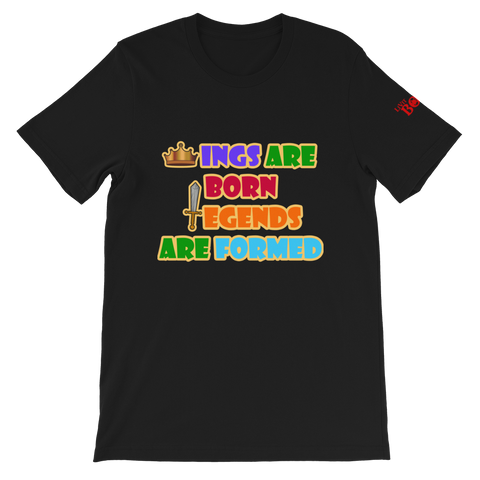 Kings Are Born, Legends Are Formed Short-Sleeve Men's T-Shirt - 4 Colors - LiVit BOLD