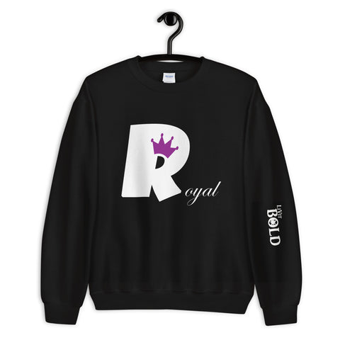 Royal Unisex Sweatshirt - 9 Colors - LiVit BOLD