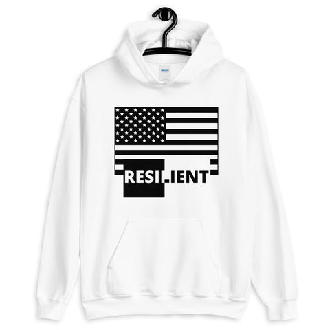 Resilient America Unisex Hoodie - 2 Colors - LiVit BOLD