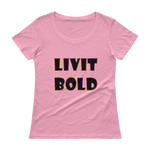 Color-Up Ladies' Scoopneck T-Shirt - 9 Colors - LiVit BOLD