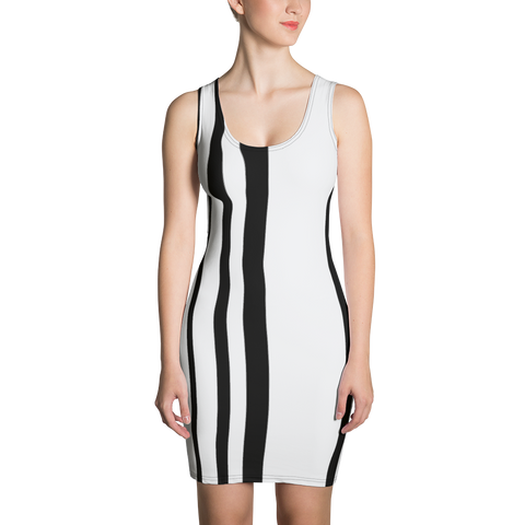 Half Stripe Sublimation Cut & Sew Dress - LiVit BOLD - LiVit BOLD