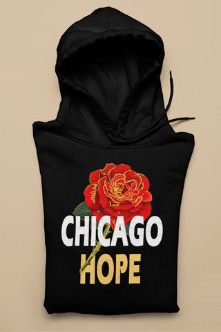 Chicago Hope Unisex Hoodie (Black & Navy)