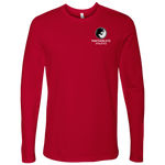 Pantherlete Athletics Men's Long Sleeve Top - Red - LiVit BOLD