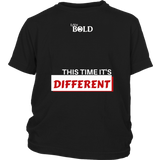 This Time It's Different Youth T-Shirt  - LiVit BOLD - 4 Colors - LiVit BOLD