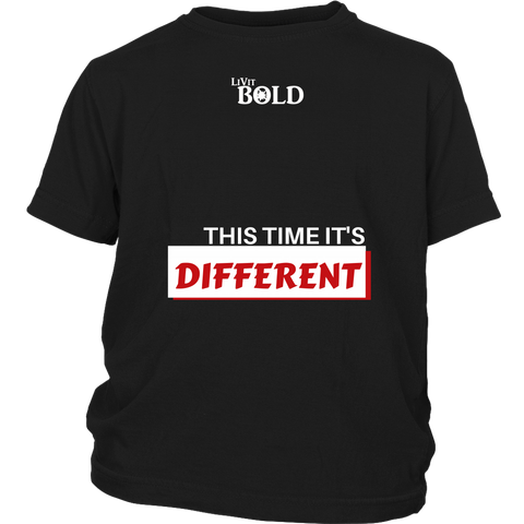 This Time It's Different Youth T-Shirt  - LiVit BOLD - 4 Colors